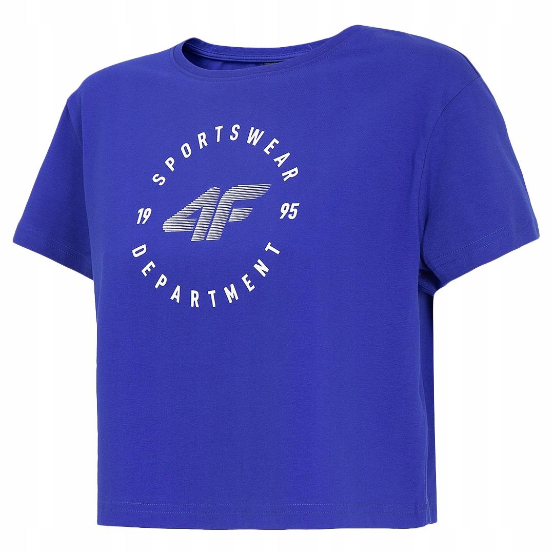 Koszulka damska 4F T-shirt crop-top TSD020 L