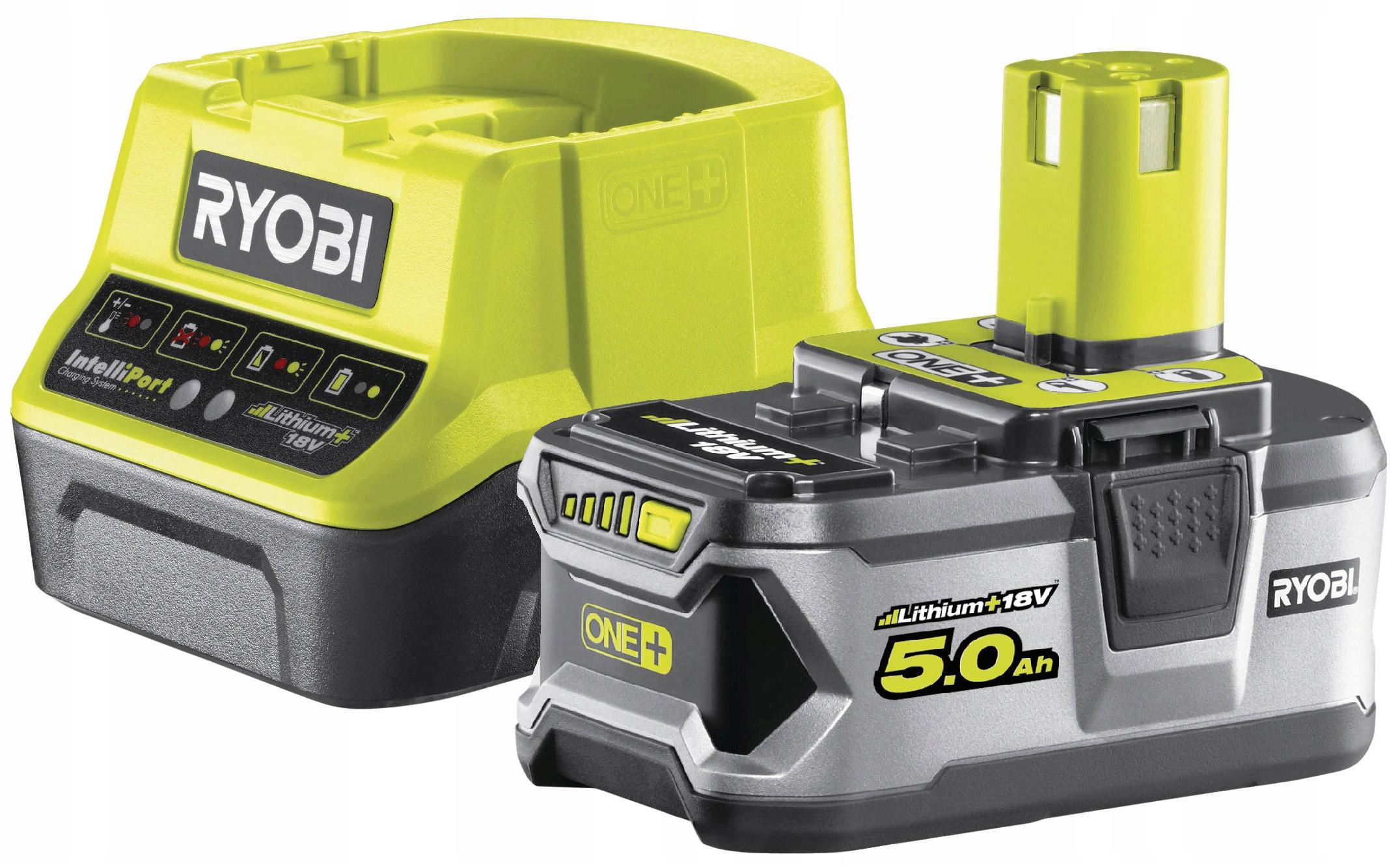 RYOBI RC18120-150 5.0 Ah Batéria + nabíjačka 18V