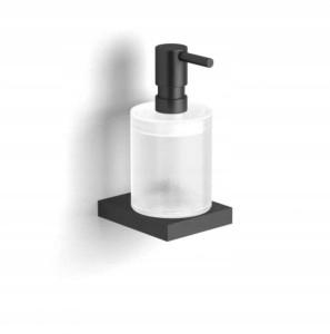 Dávkovač tekutého mydla Kobe matná čierna 10.423-B