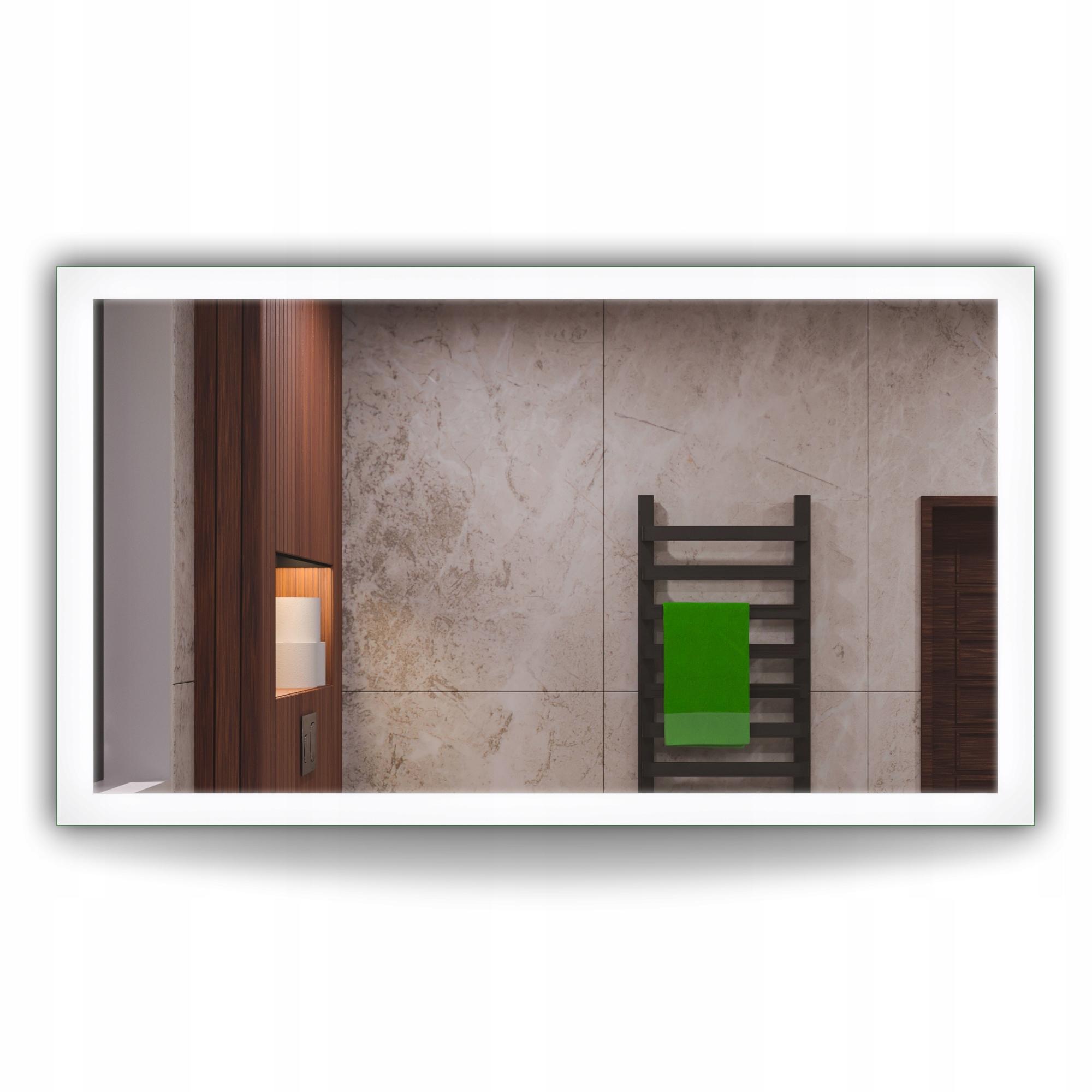 Зеркало для ванной с подсветкой 120x80 LED TUNISIA