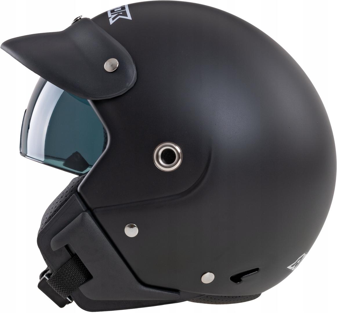 KASK MOTOCYKLOWY OTWARTY MOTOR SKUTER BLENDĄ ST M