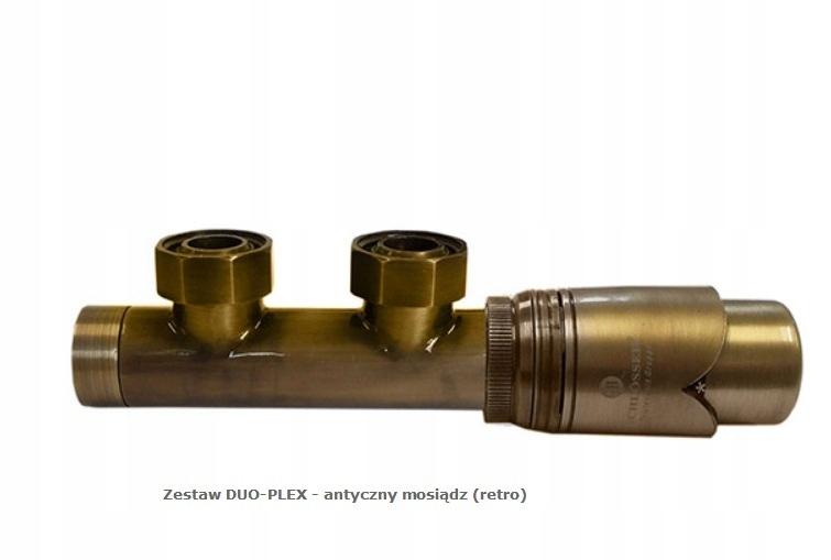 Nastavte termostatické ventily Duo-Plex (retro)