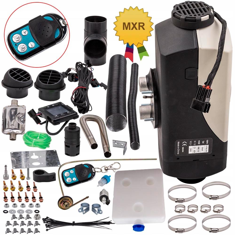 12v 2kw нагреватель воздуха жк контроллер