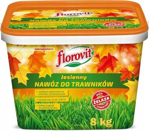 Nawóz do trawników jesienny Florovit 8 kg granulat