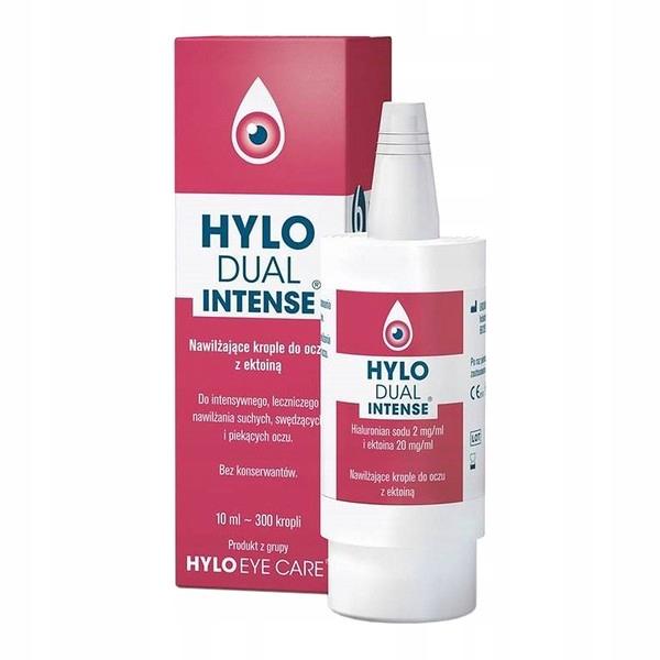 Hylo Dual Intense krople nawilżające ektoiną 10 ml