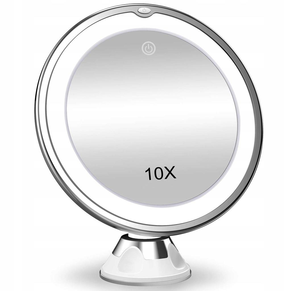 LED okrúhle 360 stupňové zrkadlo do kúpeľne