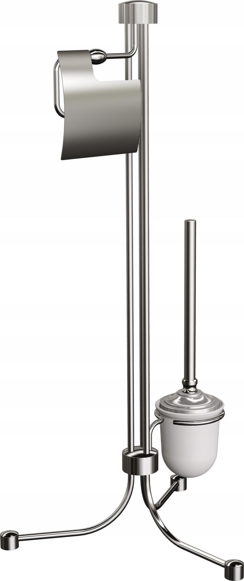 NASTAVIŤ VAŇA RETRO 73,2 cm STOJACE, chrome