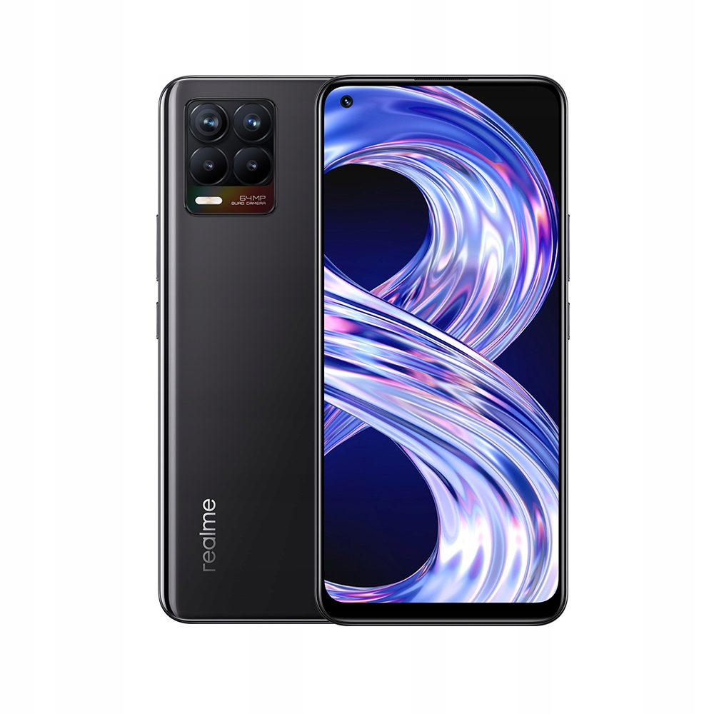 Smartfon realme 8 6GB 128GB Czarny