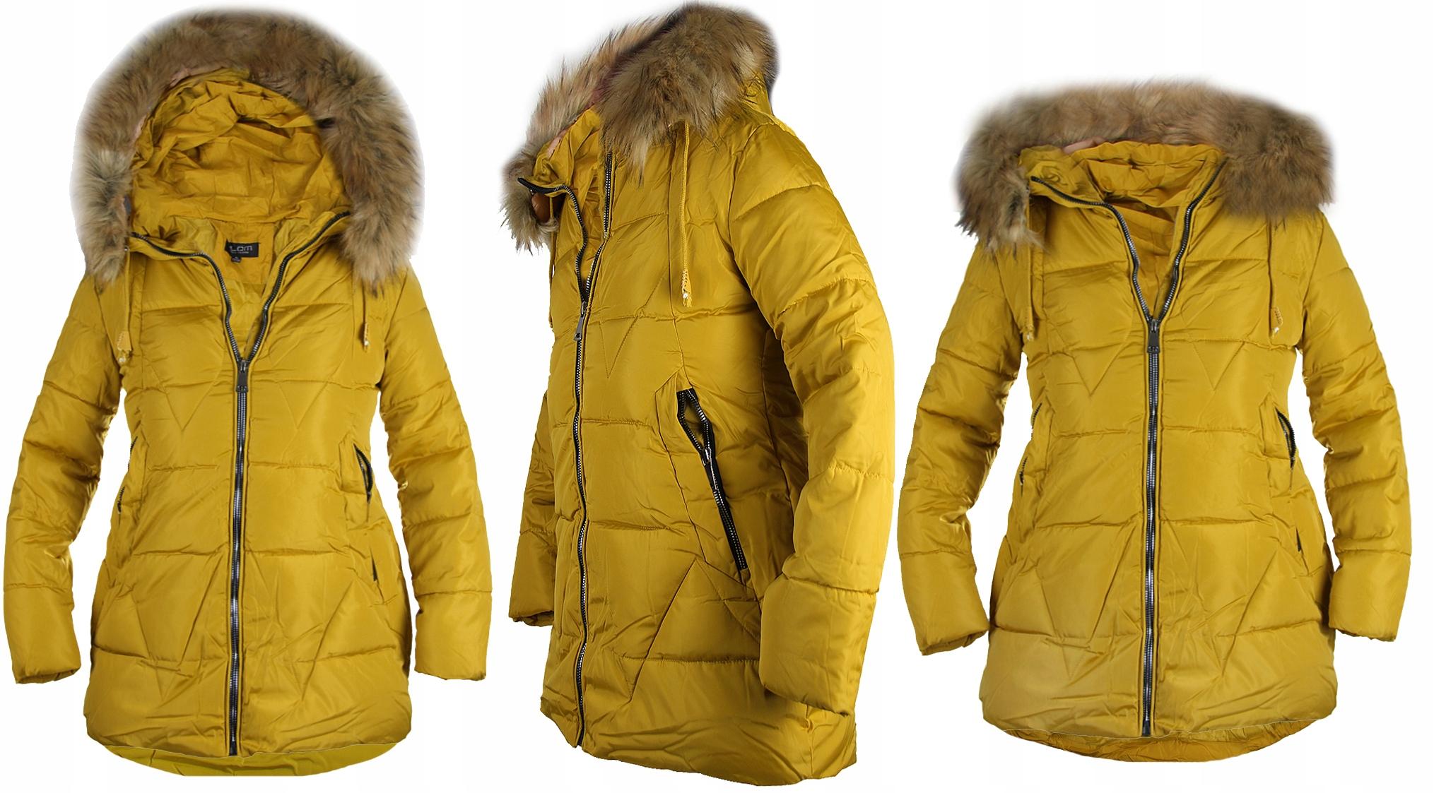 Duze Rozmiary Kurtka Zimowa Damska Plus Size 3xl 10012044736 Allegro Pl