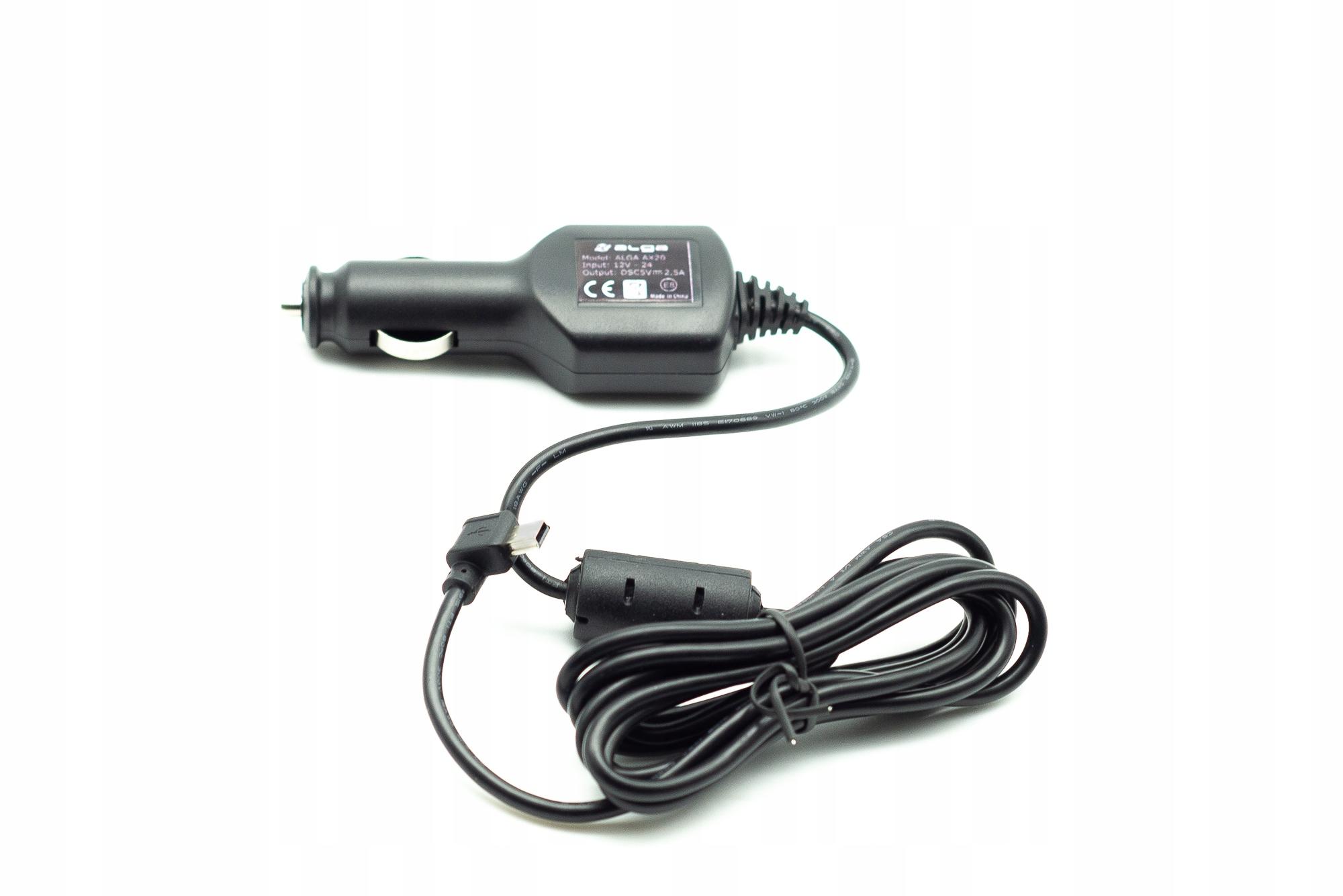 ŁADOWARKA SAMOCHODOWA Z FILTREM. MINI USB 5V 2.5A. Model AX20