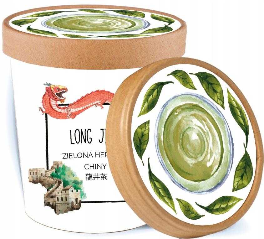 LONG JING зеленый китайский чай Longjing ПОДАРОК
