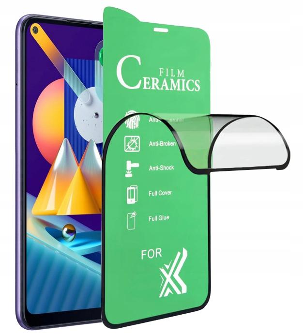 Szkło do Samsung Galaxy M11 Hybrydowe cały ekran