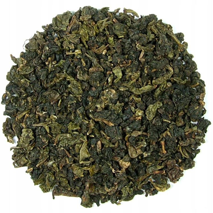 OOLONG Milky Tea herbata niebieska TURKUSOWA 50g