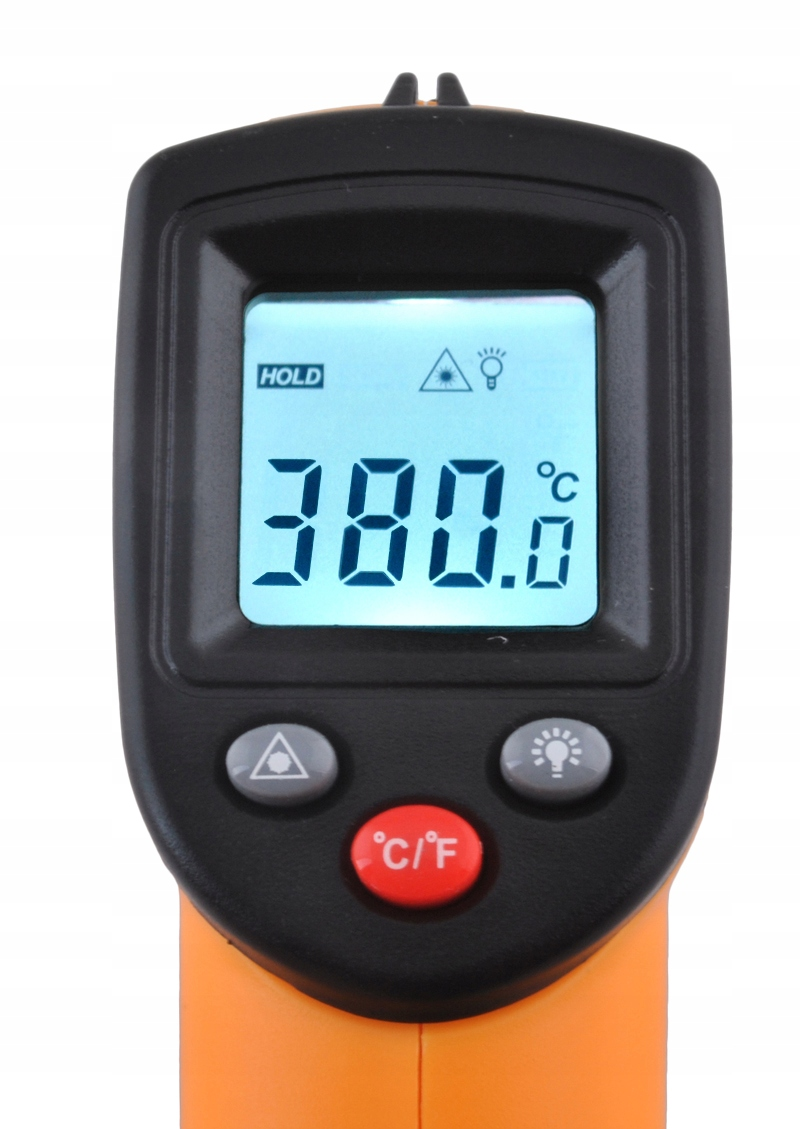 Brezkontaktni pirometer Ukrep Infrardeča -50 +380 Teža izdelka v posamezni embalaži 0,18 kg
