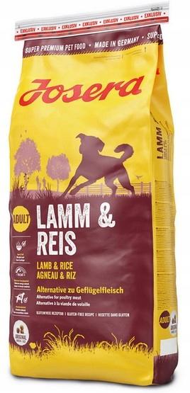 Josera Lamb & Rice 15kg + PREMIUM SMAKOŁYKI EAN 4032254743354