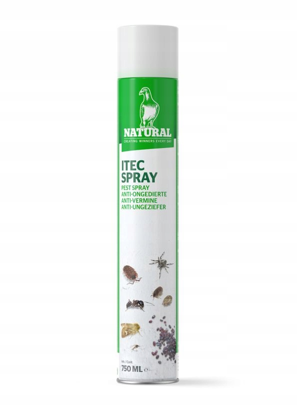 Natural Spray 750ml piórojady insekty pasożyty