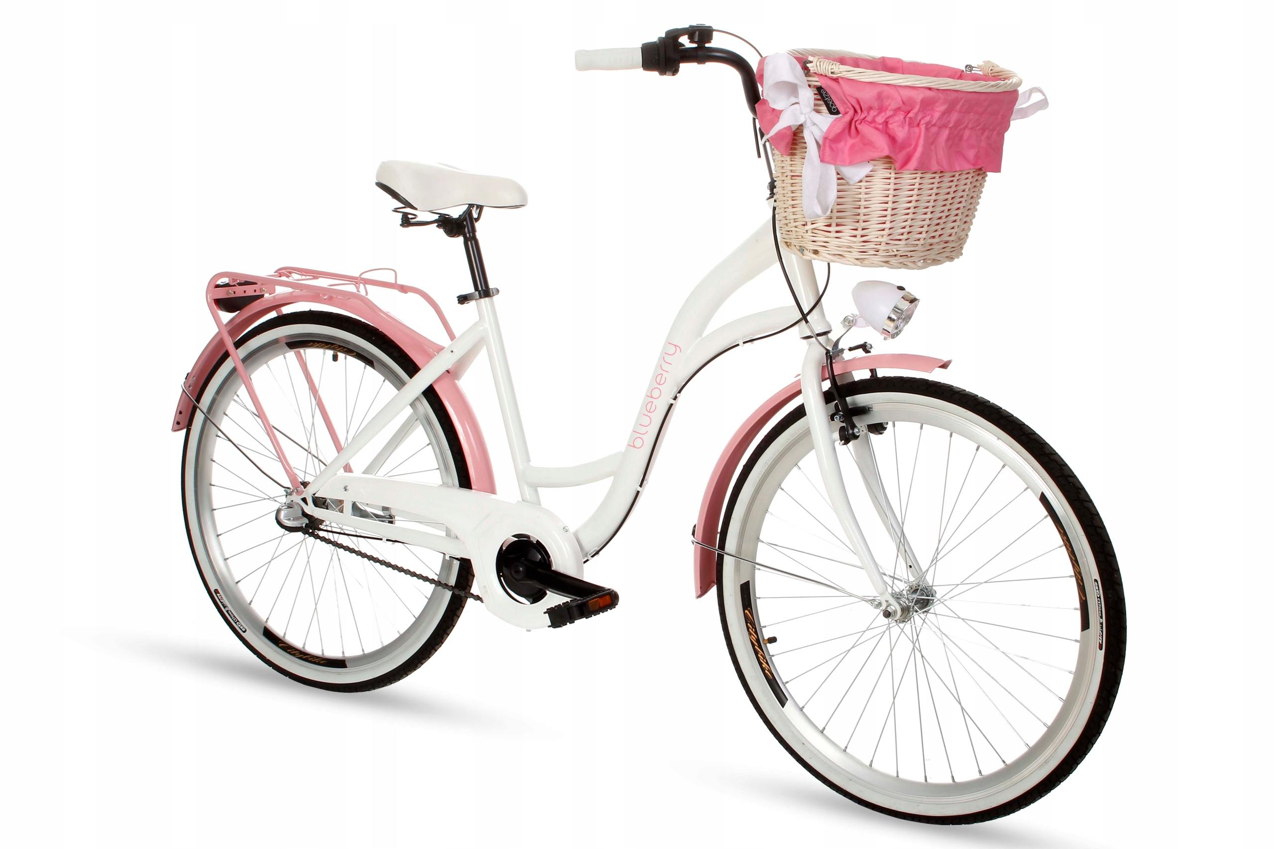Dámsky mestský bicykel Goetze BLUEBERRY 26 3b košík!  Počet prevodových stupňov 3