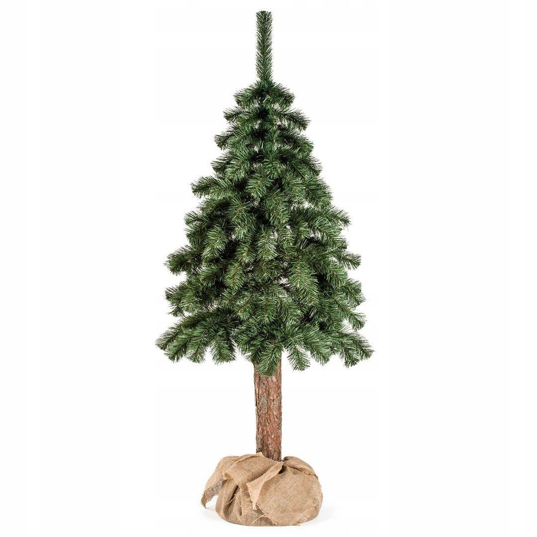DecoKing Umelý vianočný stromček na kmeni jedle CECILIA 10