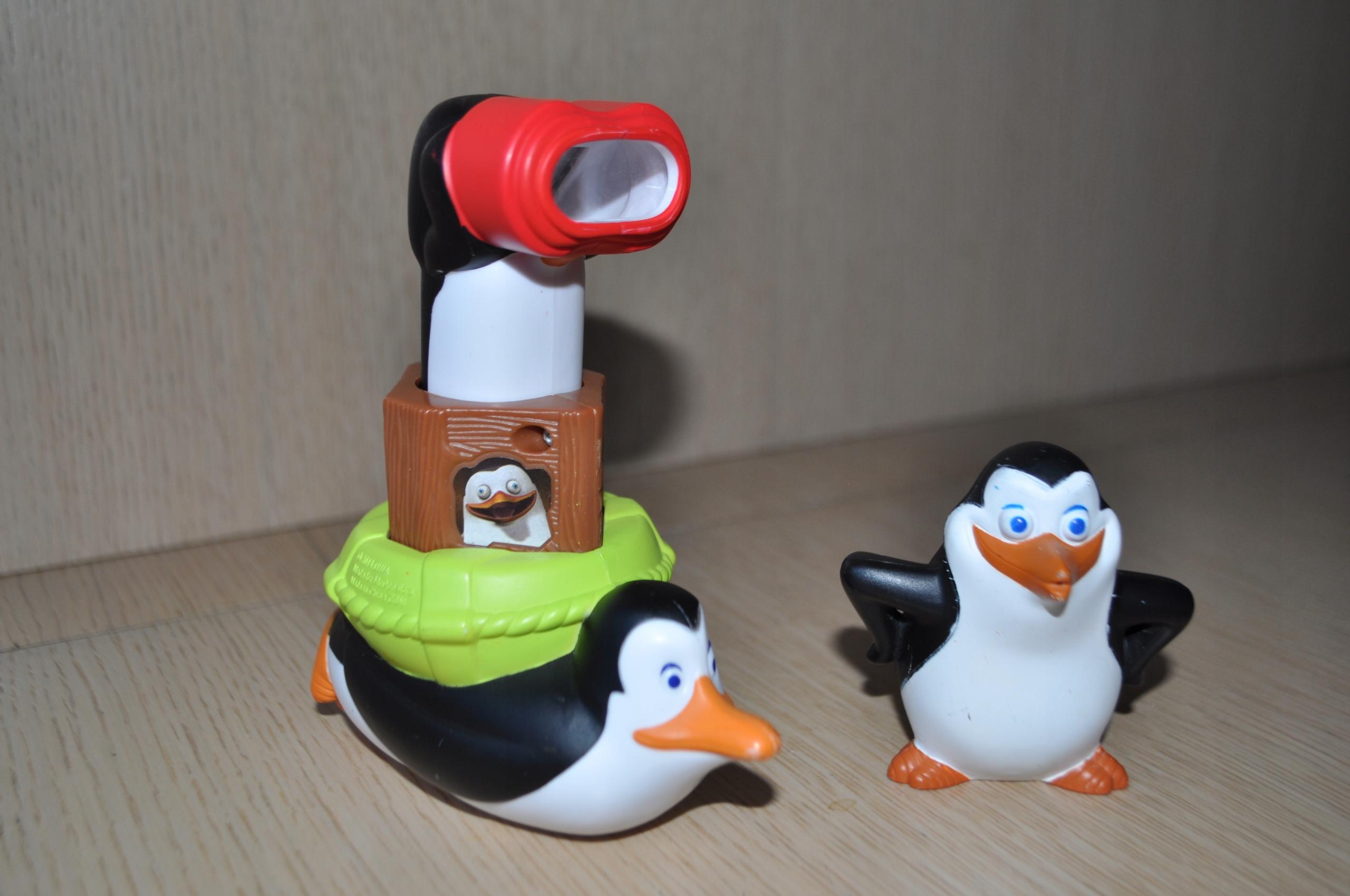 Dwie Figurki Pingwiny Z Madagaskaru 9611149748 Allegro Pl