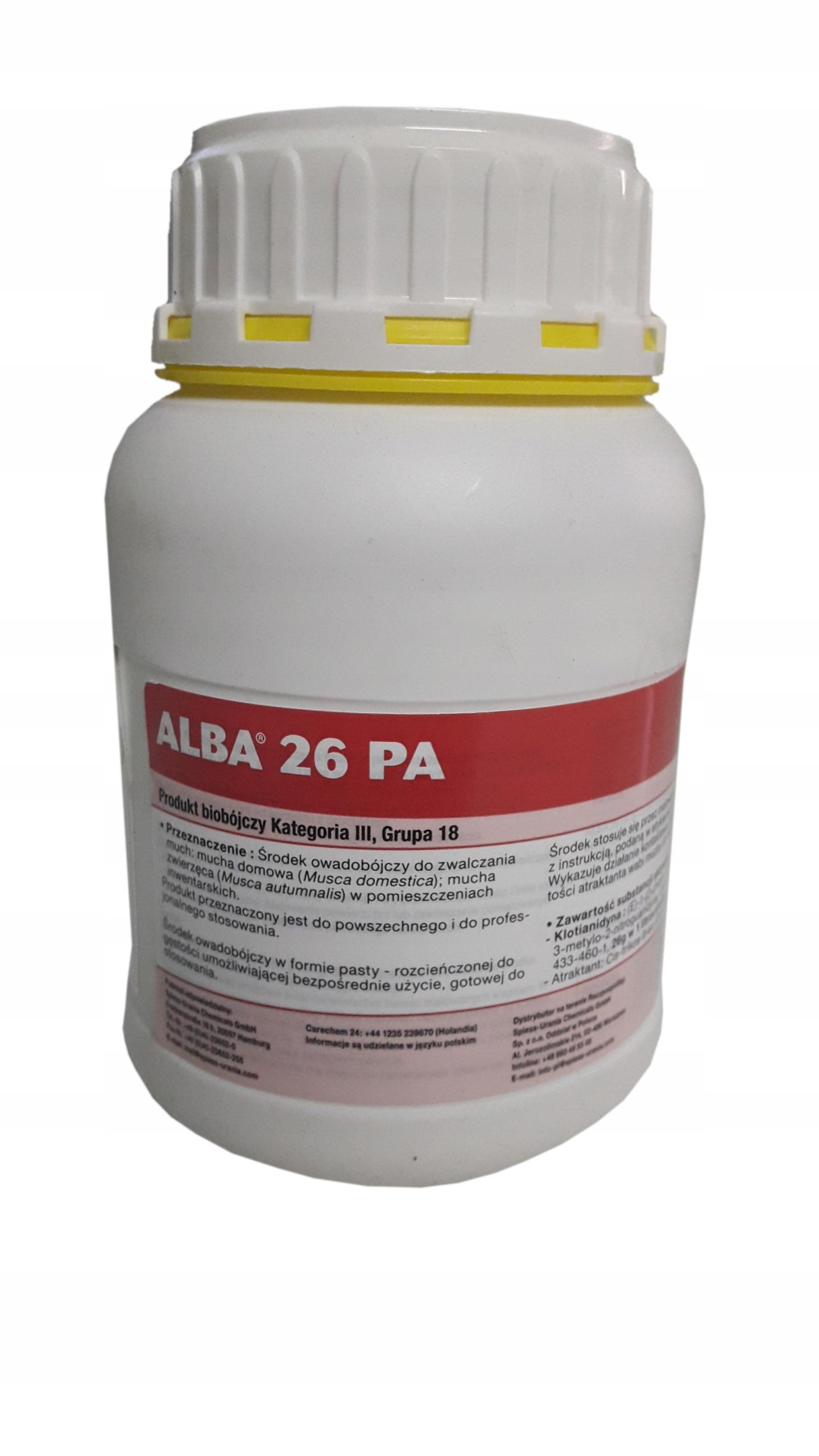 ALBA 26 PA инсектицид для борьбы с мухами