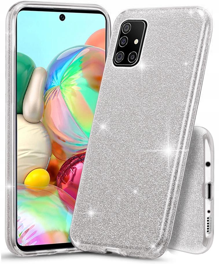 Etui CASE BROKAT + SZKŁO 9H do Samsung Galaxy A71