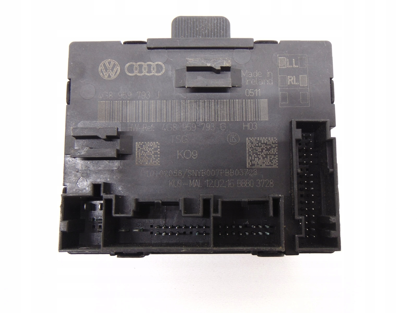 модуль драйвер двери 4g8959793j audi a6 c7 a7
