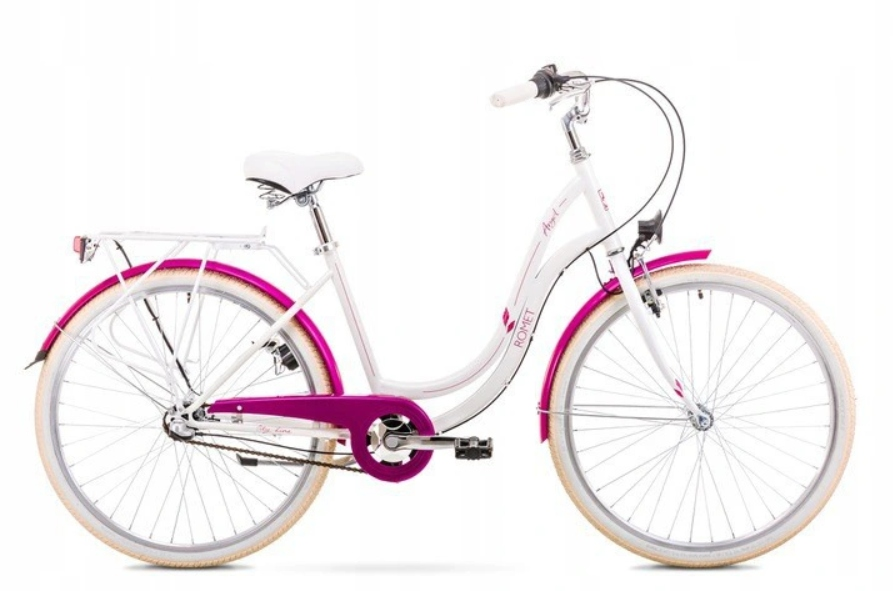 Bicykel ROMET Angel 26/3-rýchlostný 19 perleťovo ružový