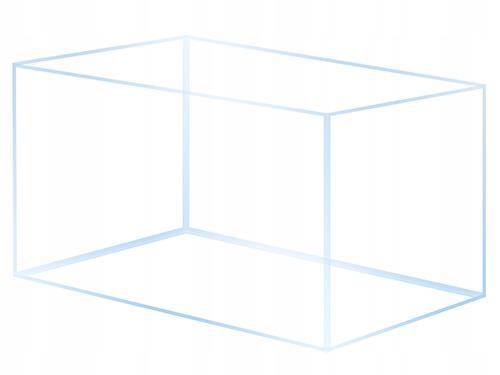 Akwarium OptiWhite 60x30x35 - 63l
