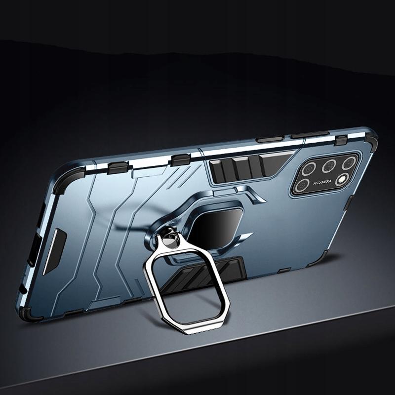 Etui do Oppo A52 A72 A92 Ring Case + Szkło 9H Dedykowany model Oppo A52 A72 A92