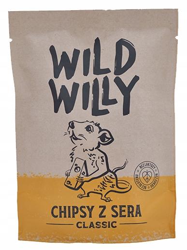 Чипсы Wild Willy Cheese 50г