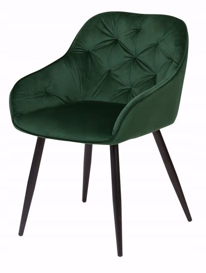 Krzesło tapicerowane Loren dark green Marka ExitoDesign