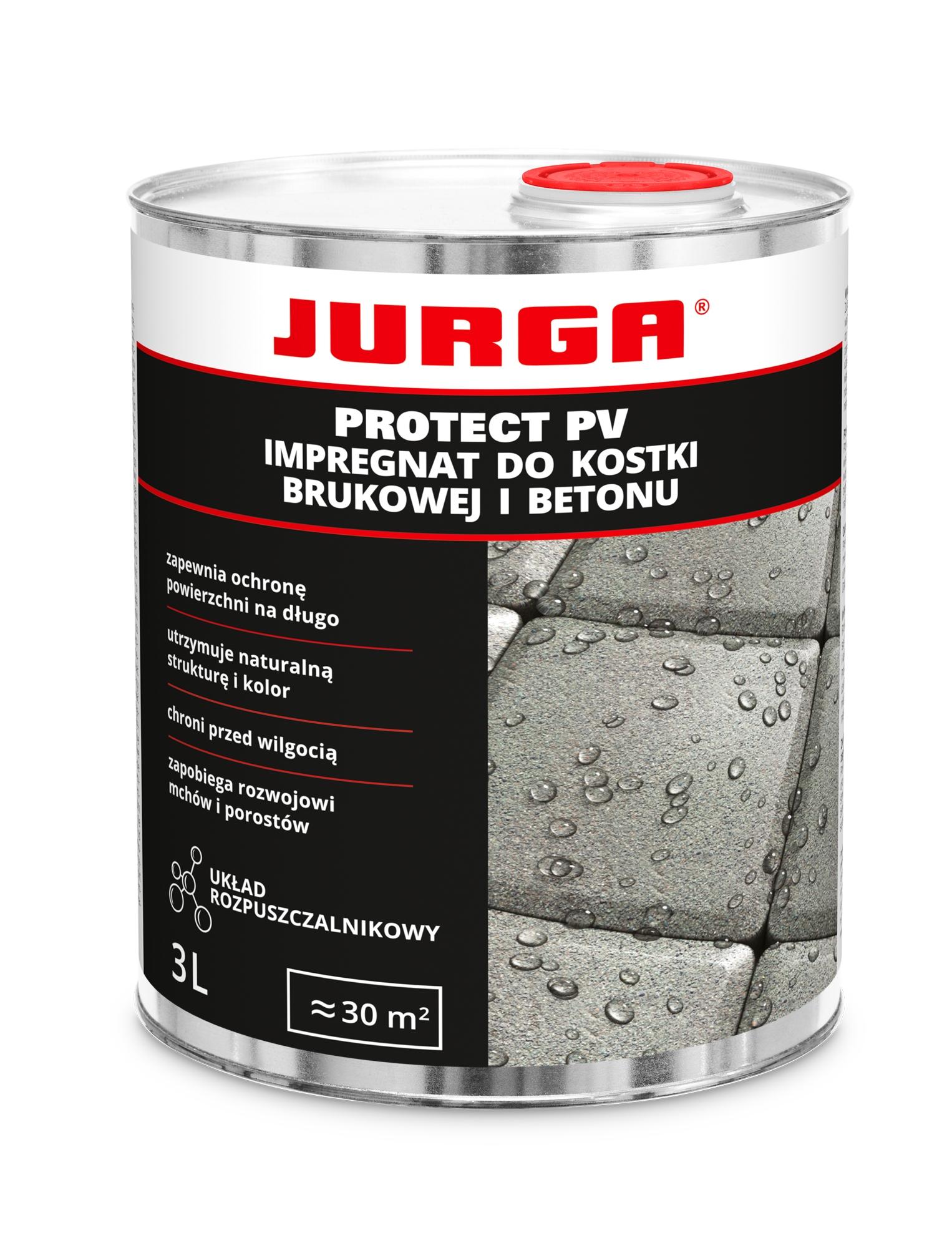 JURGA PROTECT PV Пропитка для брусчатки, бетона 3Л