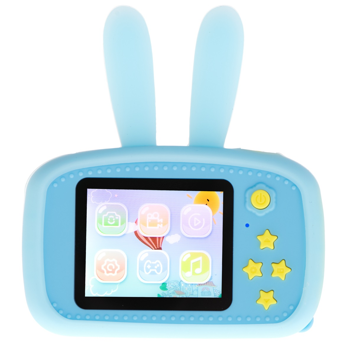 Aparat Cyfrowy Kamera dla Dzieci LCD KRÓLIK GRY Waga produktu z opakowaniem jednostkowym 0.15 kg