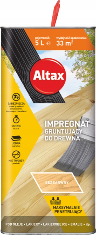 Altax Пропитка грунтовка для Дерева Penetrin 5л