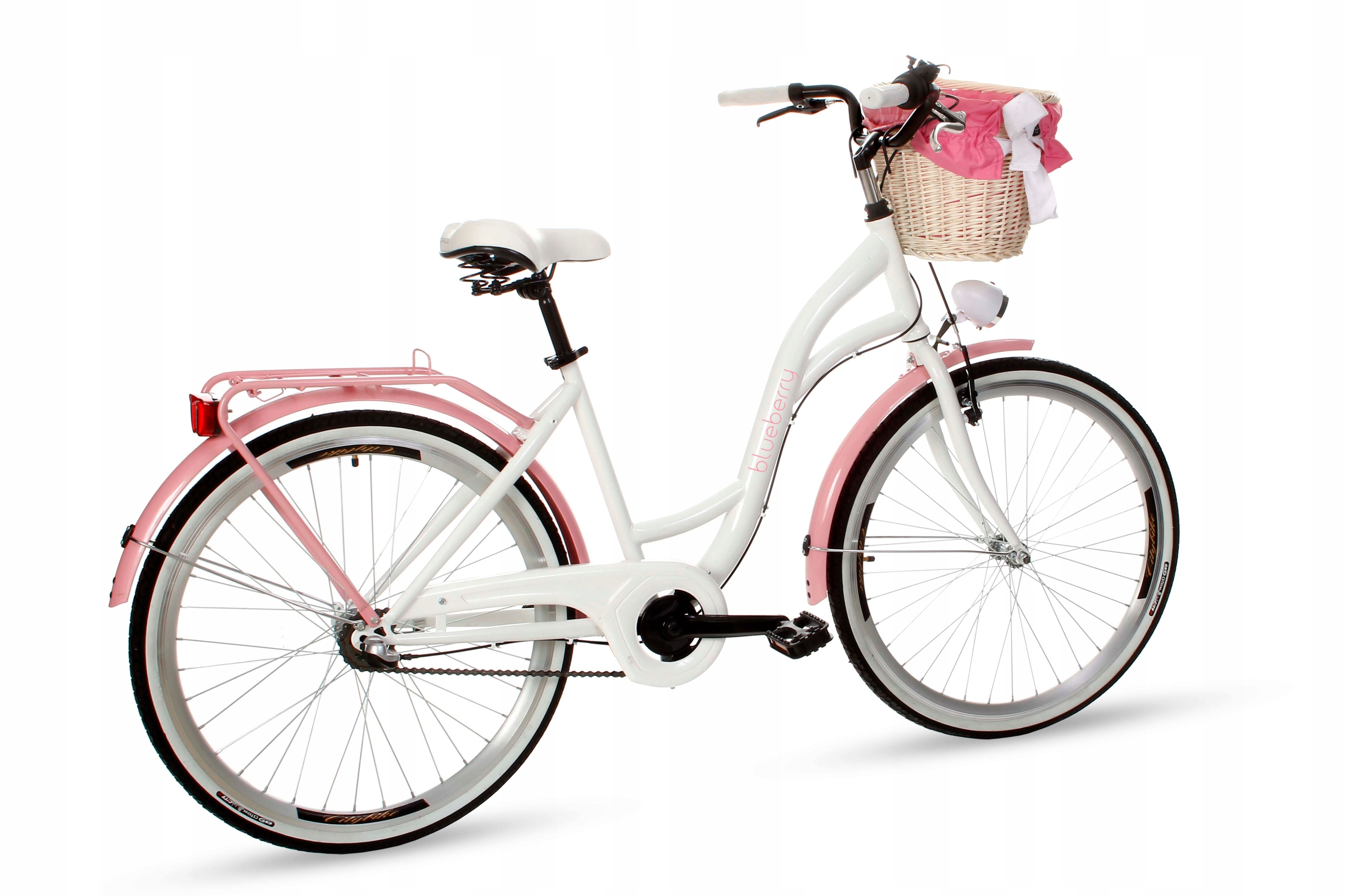 Dámsky mestský bicykel Goetze BLUEBERRY 26 3b košík!  Viacfarebná farba