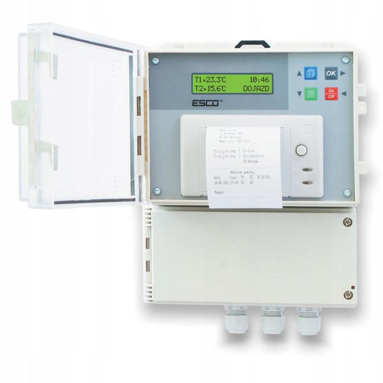 регистратор температуры dr100 - термографом принтер