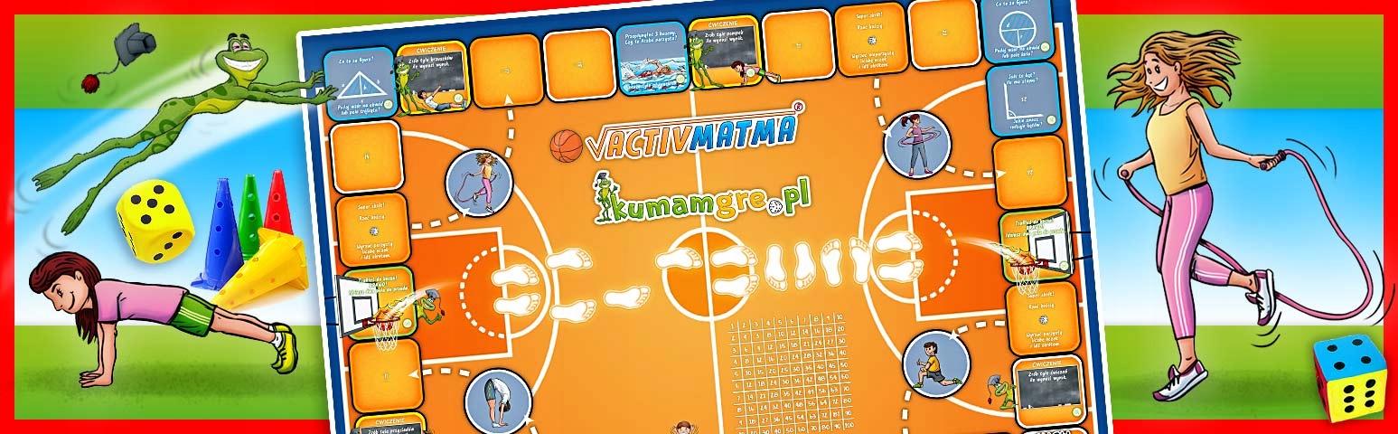 eko gra kopertowa ACTIVMATMA koszykówka Płeć Chłopcy