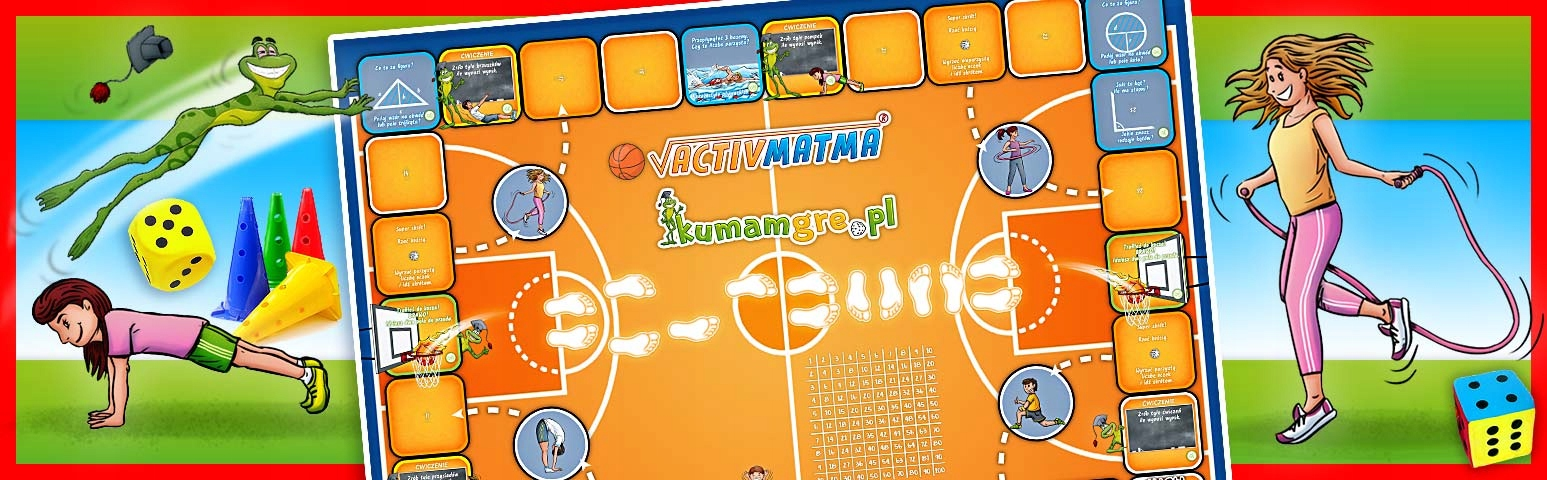 eko gra planszowa ACTIVMATMA koszykówka Płeć Chłopcy
