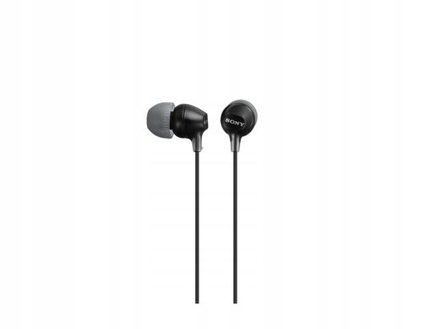 Słuchawki handsfree, mikrofon MDR-EX15AP black