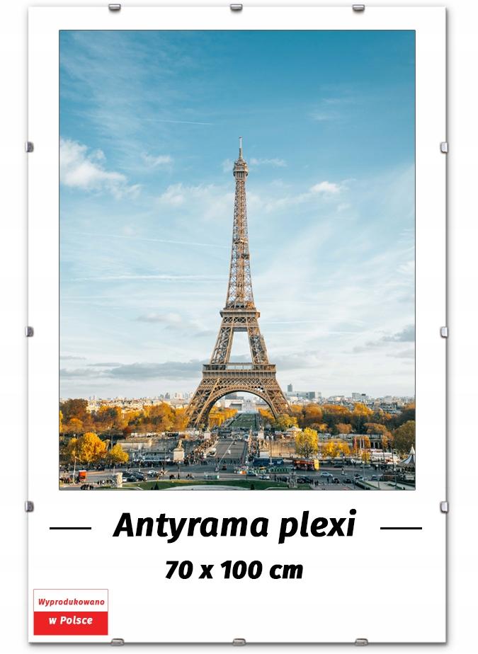 ANTYRAMA PLEXI B1 70x100 100x70 см РАМКА ДЛЯ ПОСТЕРА