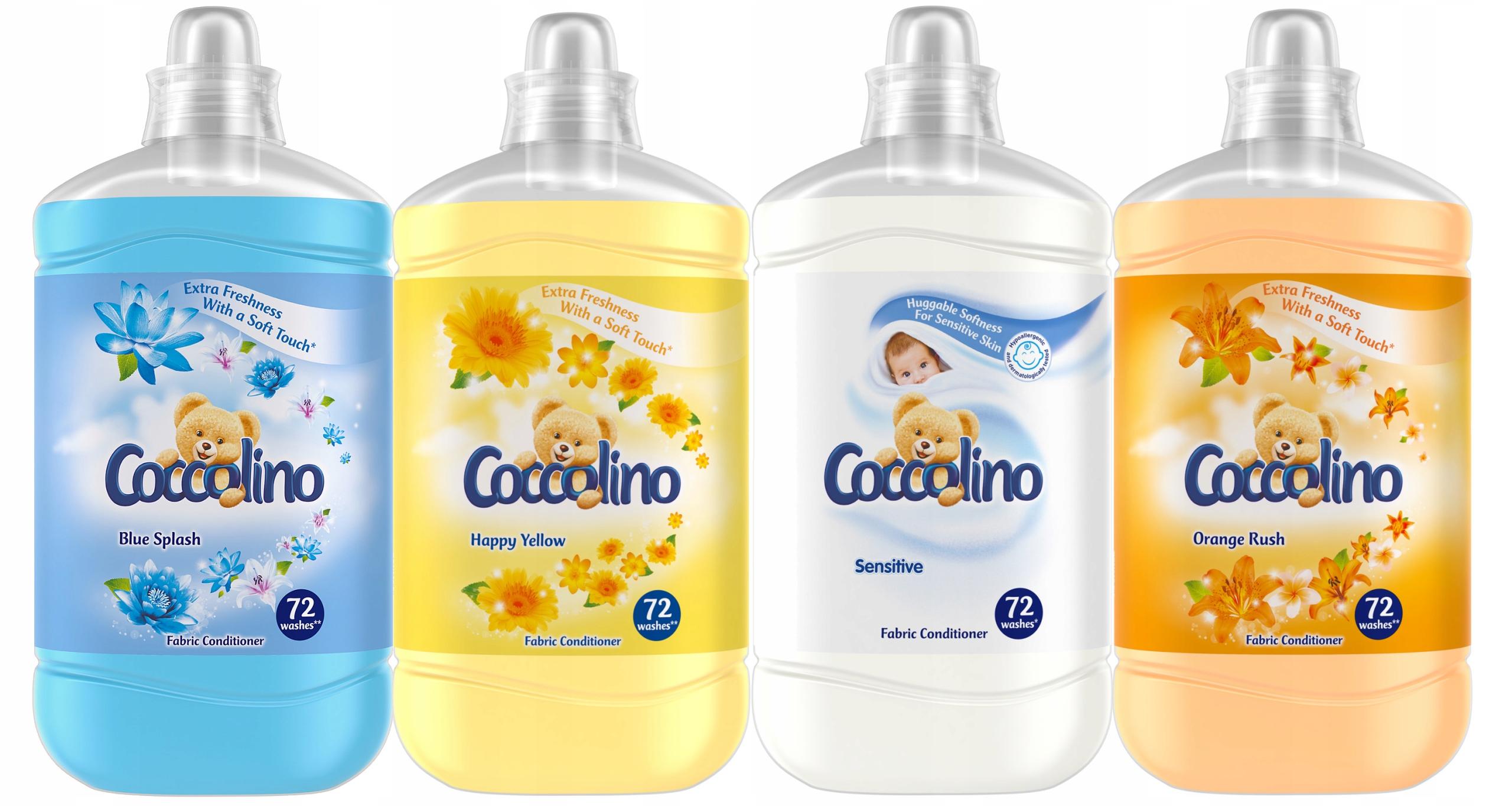 Coccolino Промыть жидкий мега Набор для 288pr