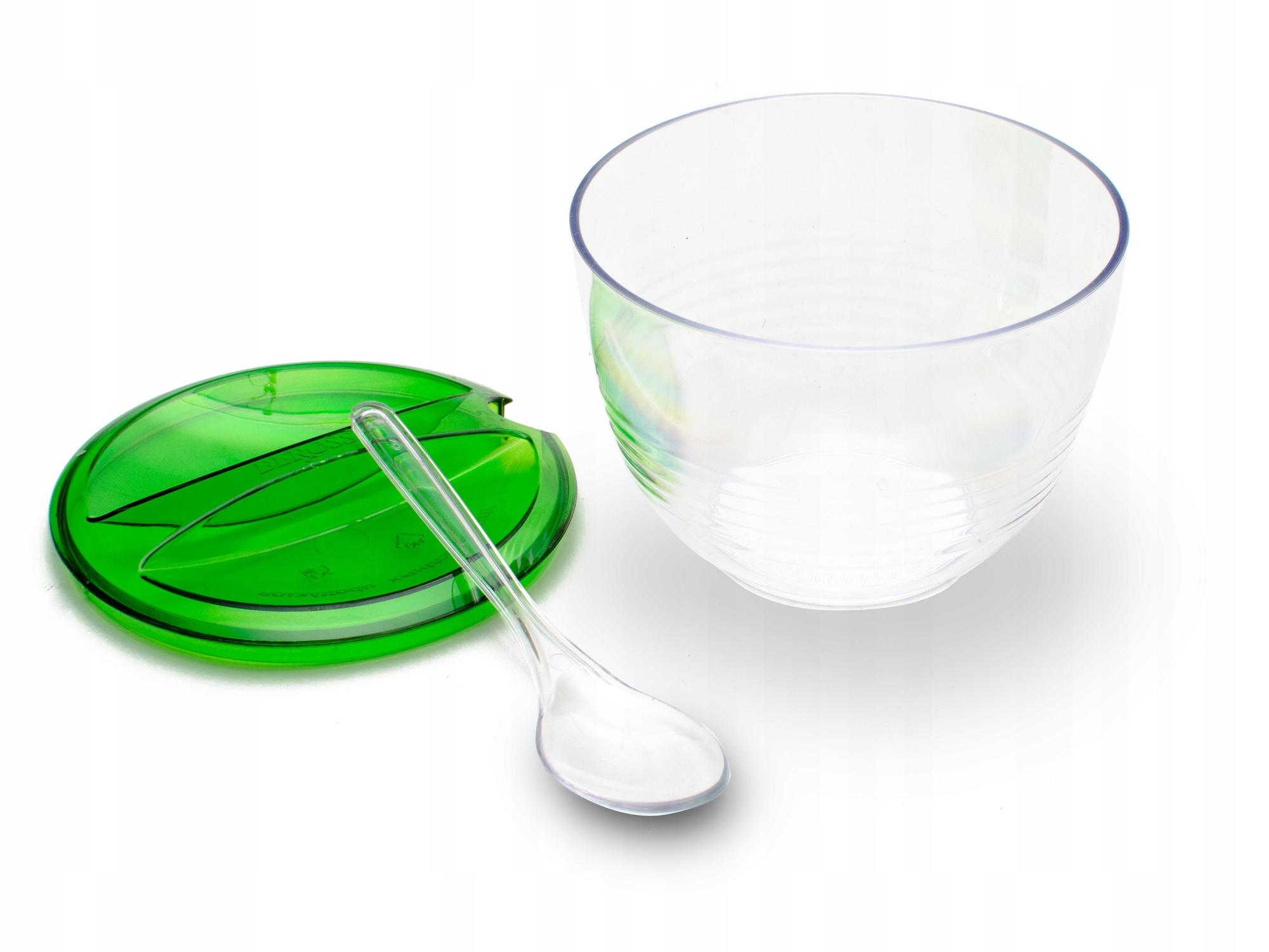 Cukrársky cukor s lyžičkou a krytom