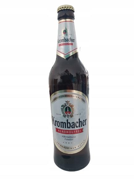 Piwo Krombacher Pilsner bezalkoholowe alk.<0,5%
