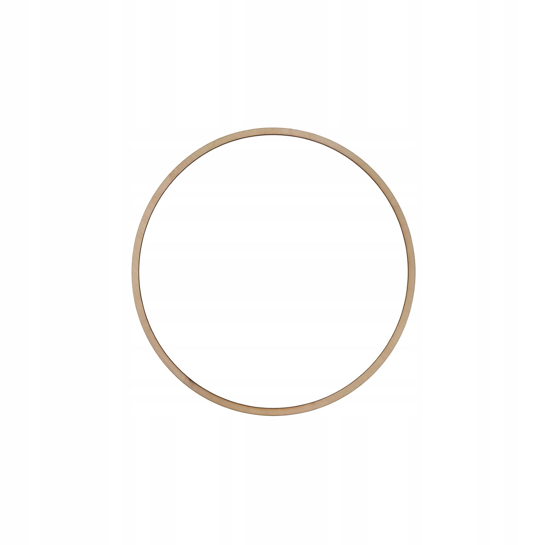 Drewniana obręcz kółko do łapacza snów - 16 cm