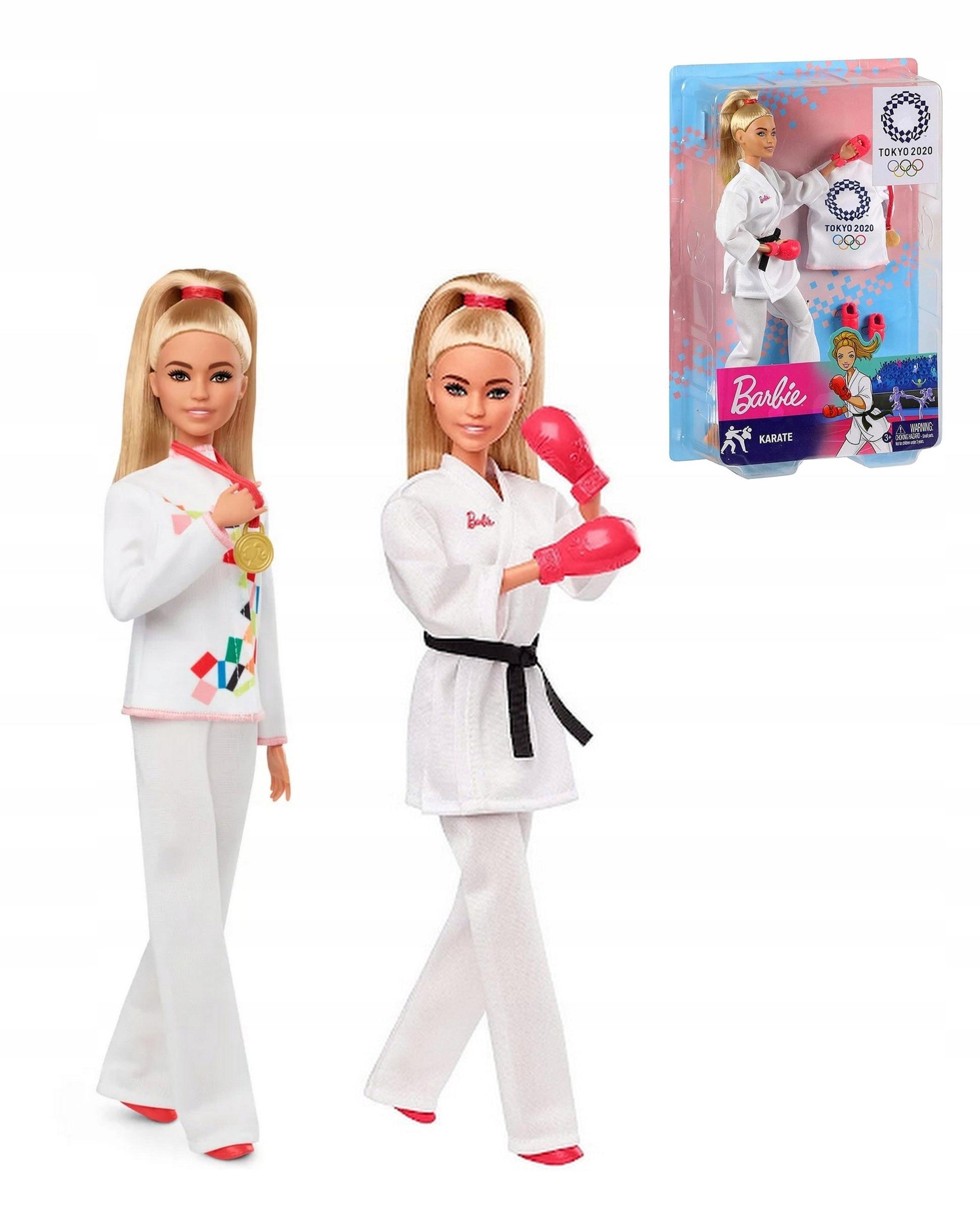 Barbie Karate Doll Tokyo 2020 Olympian GJL74 Manufacturer's code GJL74