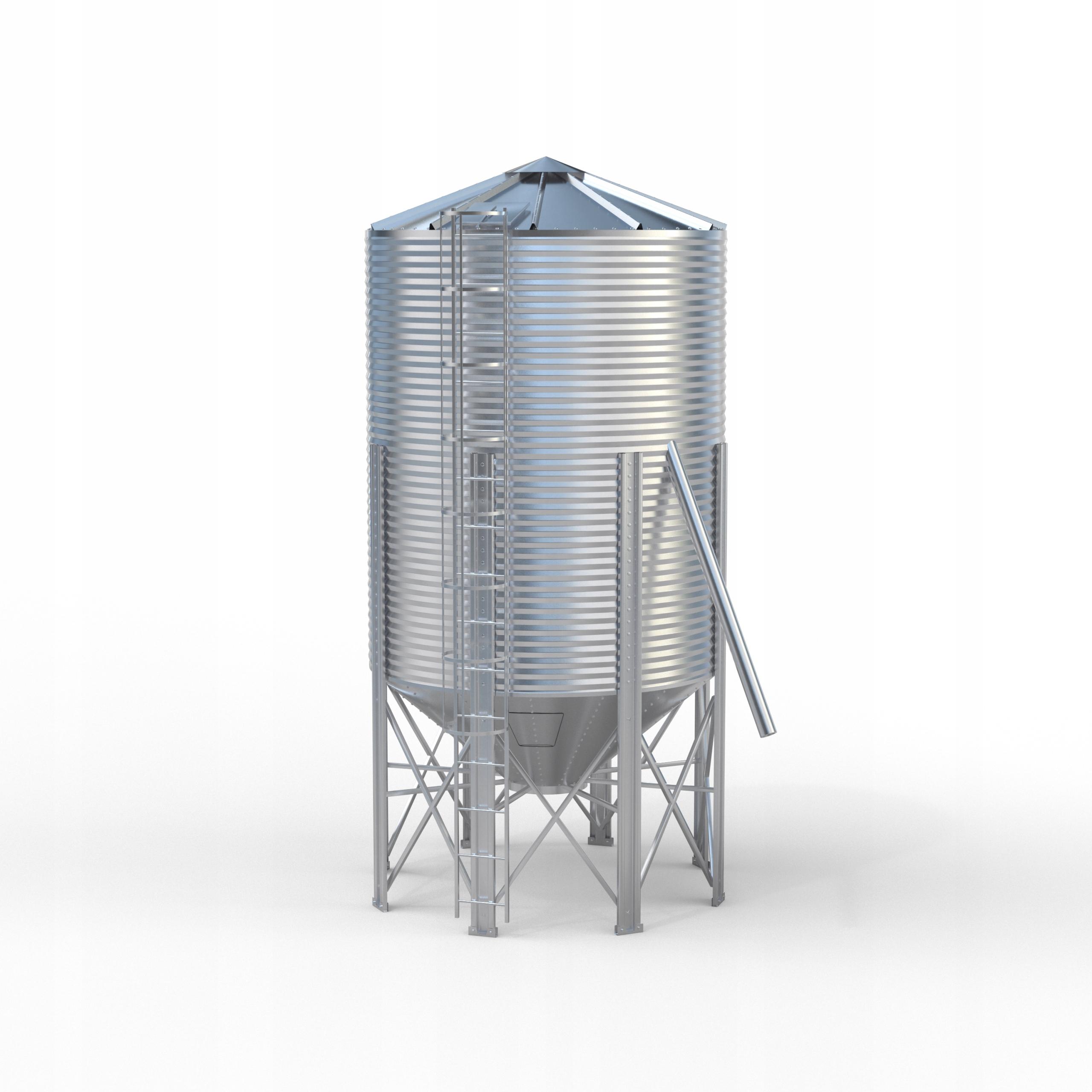 Silosy zbożowe lej AGOS 24 ton silos PRODUCENT 72h