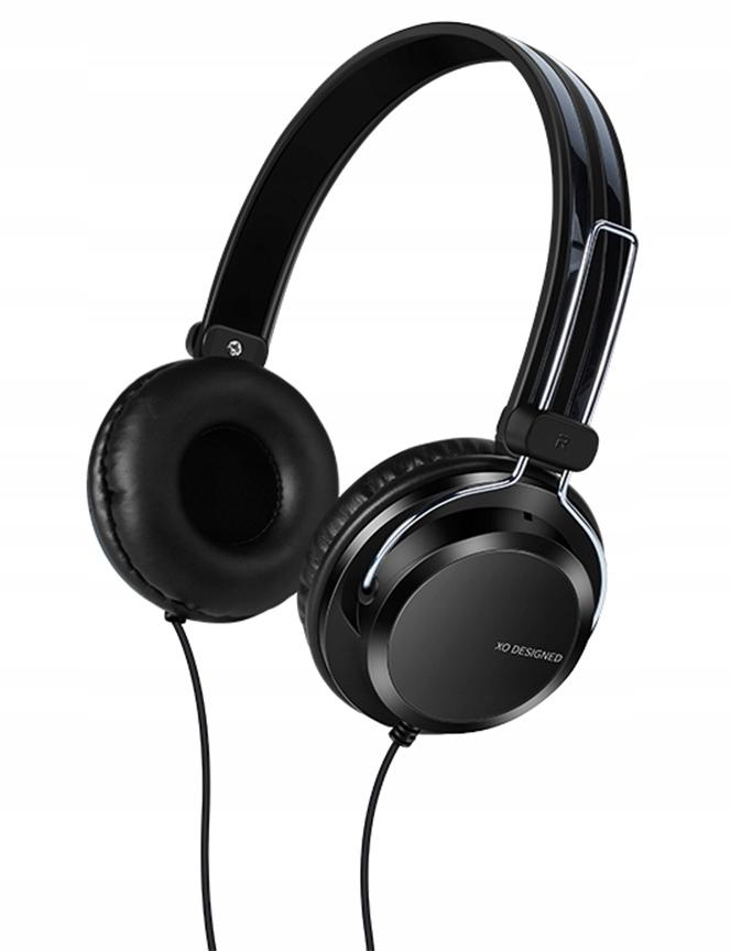 Słuchawki Nauszne Przewodowe Mikrofon