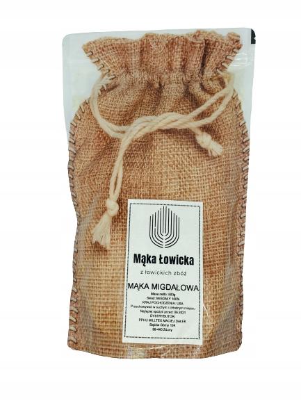 Świeża mąka migdałowa mąka z migdałów migdały 500g