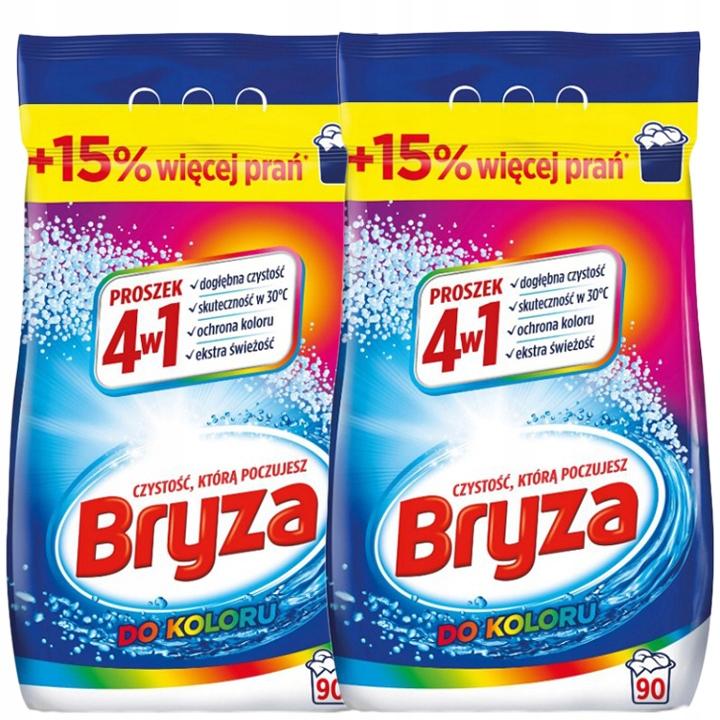 Bryza стиральный порошок 4in1 Mix Color Set