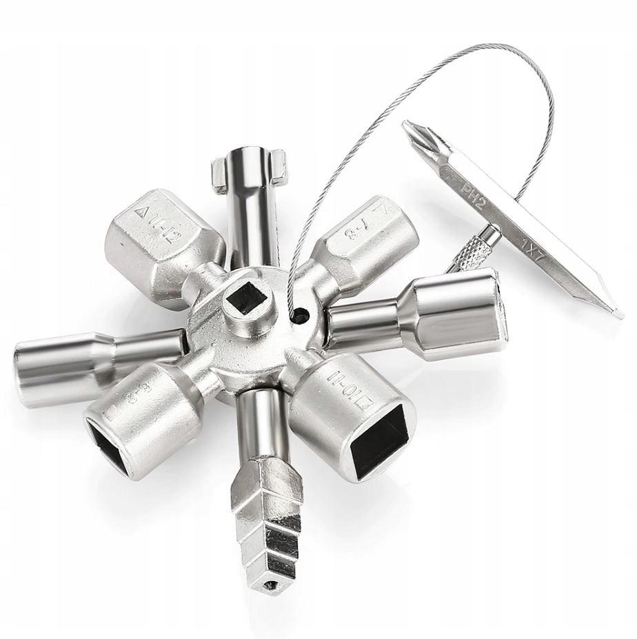 Ключ электрозамка для КРУЭ ящиков 10